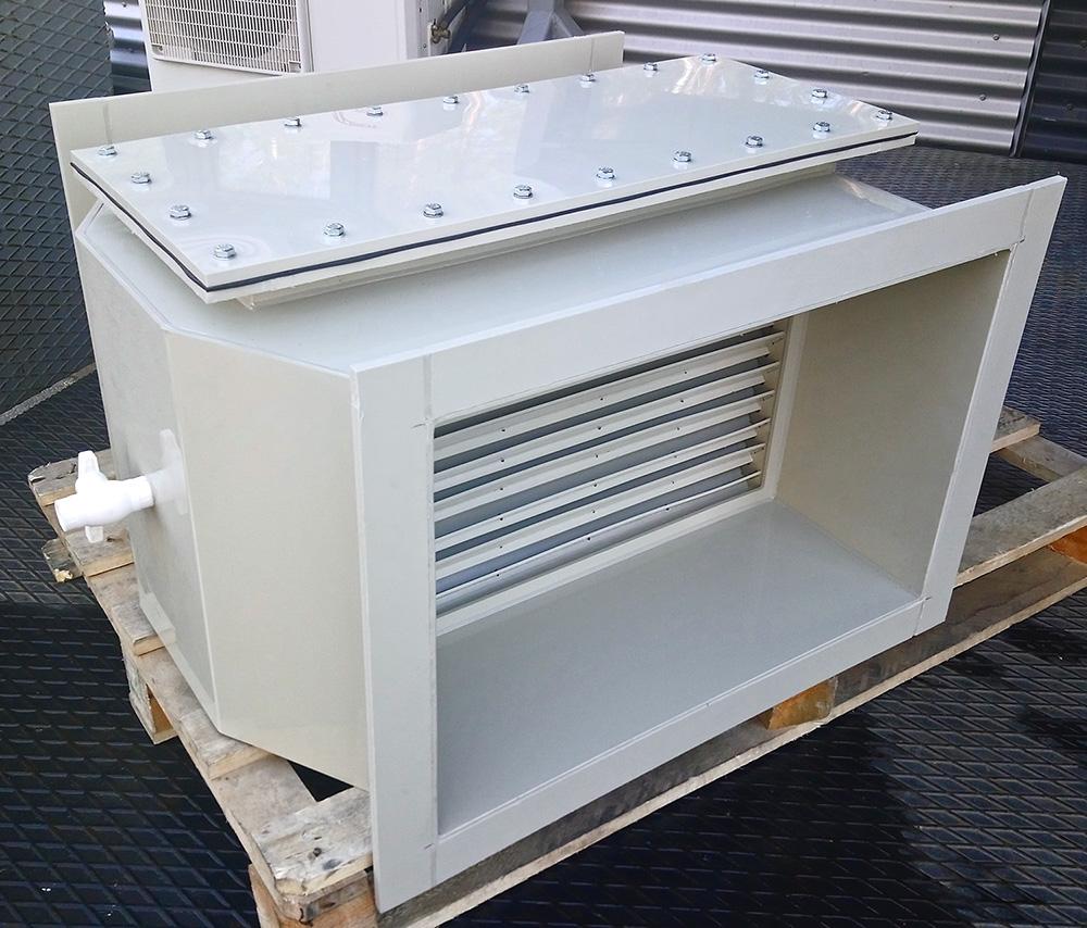 каплеуловитель для вентиляции из полипропилена