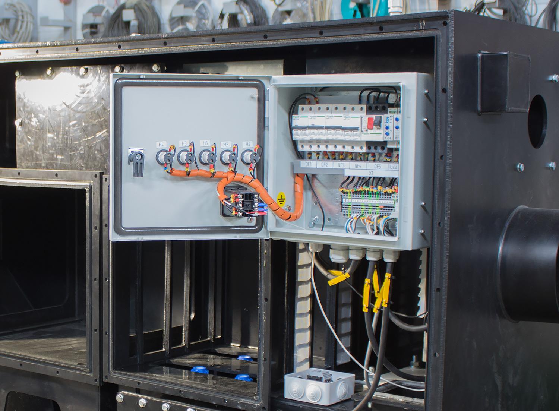 управление системой газоочистки